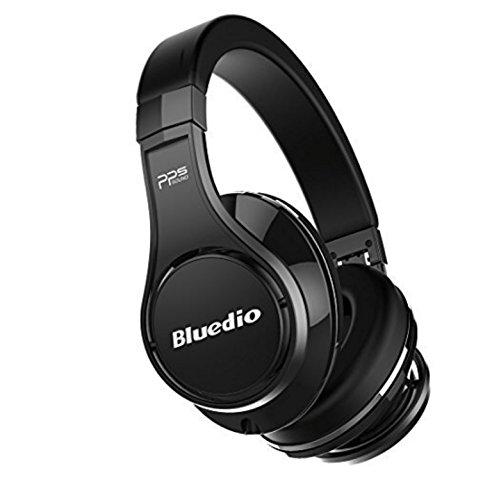 Bluedio U (UFO) Premium High End Wireless Bluetooth Headphones with Mic (Black)…