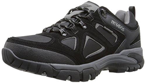 Nevados Men's Spire Low Waterproof Hiking Shoe, Black/Grey, 12 M US
