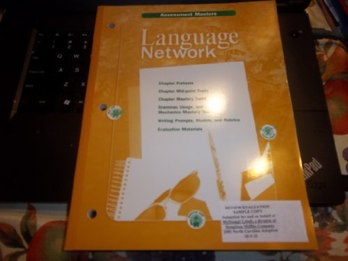 Language Network Grade 6 Assessment Masters -  MCDOUGAL LITTEL, Paperback