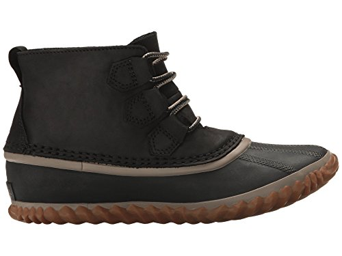Sorel Womens Out N Su Scarponi Da Neve In Pelle (nero)