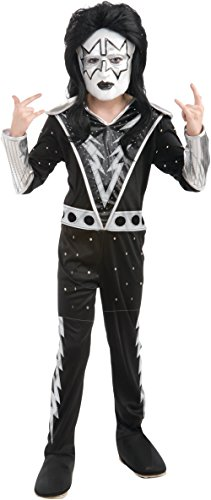 Costume Child Kiss (KISS Band - Spaceman Child Costume Size 8-10)