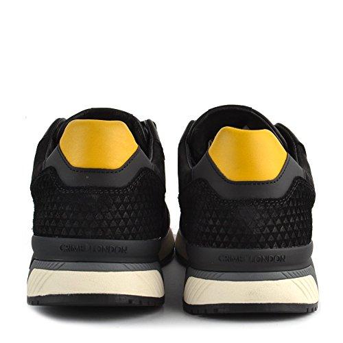 CRIME London Schuhe Escape Sneaker Aus Wildleder Schwarz Herren Schwarz 45