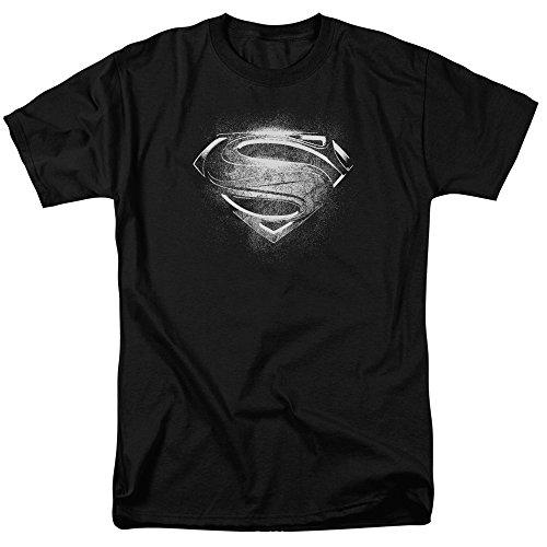 Ptshirt.com-19316-Superman Movie Contrast Symbol Adult T-Shirt Tee-B00CMAZDBW-T Shirt Design