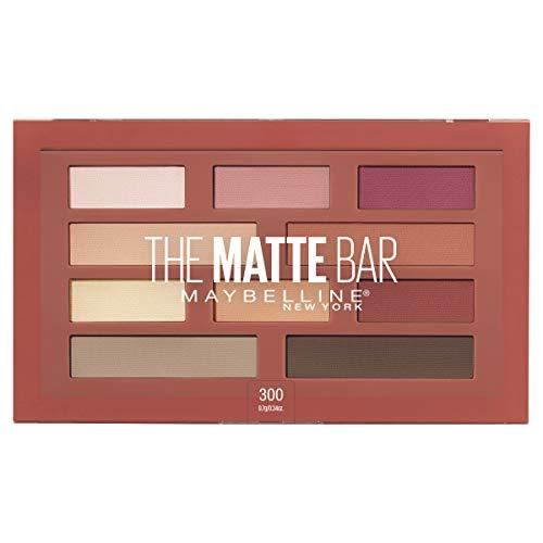Maybelline New York The Matte Bar Eyeshadow Palette Makeup, 0.34 Ounce (Melt Cosmetics Shadow)