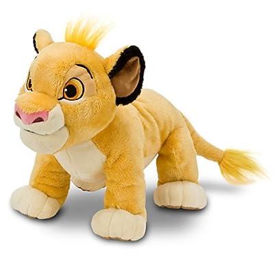 """Disney The Lion King Simba Plush -- 11"""": Toys & Games"""