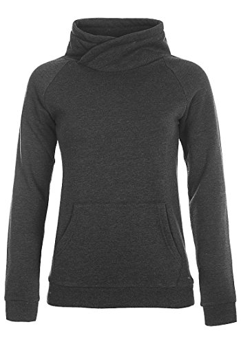 DESIRES Derby Cross Tube - Sudadera para Mujer Dark Grey Melange