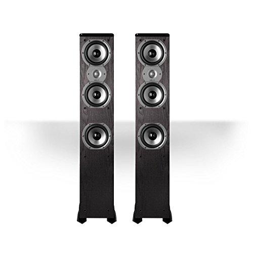5. Polk Audio TSi400 4-Way Tower Speakers (Pair)