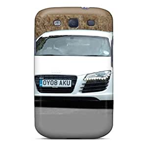 SherriFakhry Samsung Galaxy S3 Shockproof Cell-phone Hard Cover Allow Personal Design Beautiful Audi R8 Image [UpA1668BPkw]