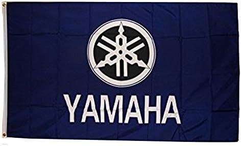 Amazon.com: Yamaha Motocicleta bandera 3 x 5 interior al ...
