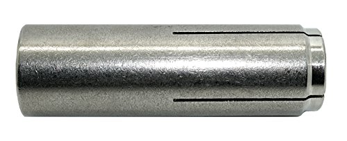 CONFAST 1/4'' (Inside/Screw 1/4'' diameter) 316 Stainless Steel Drop-In Anchor with 1 Setting Tool (100 per box) by CONFAST