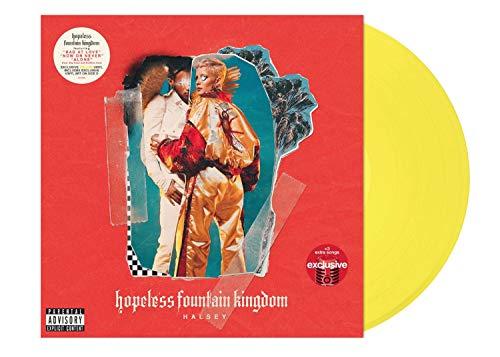 Halsey – Hopeless Fountain Kingdom Deluxe Edition Exclusive Yellow Double VInyl 2XLP (Exclusive Vinyl Art)