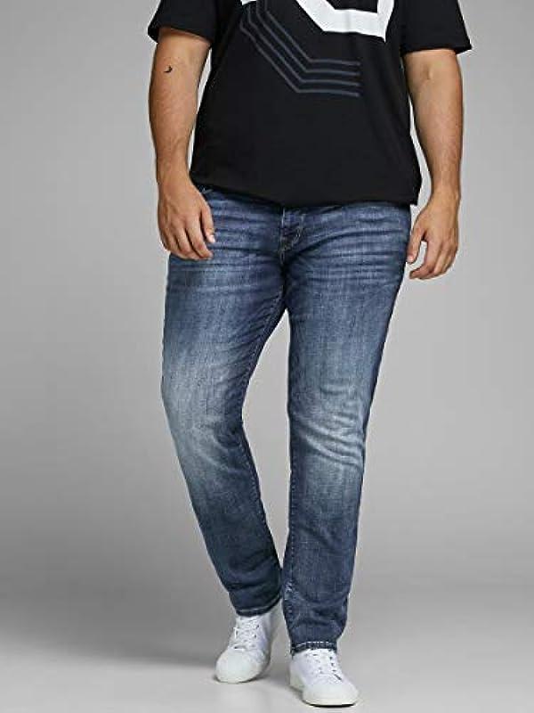 JACK & JONES Male Plus Size Slim Fit dżinsy Tim ICON JJ 057 50SPS: Odzież