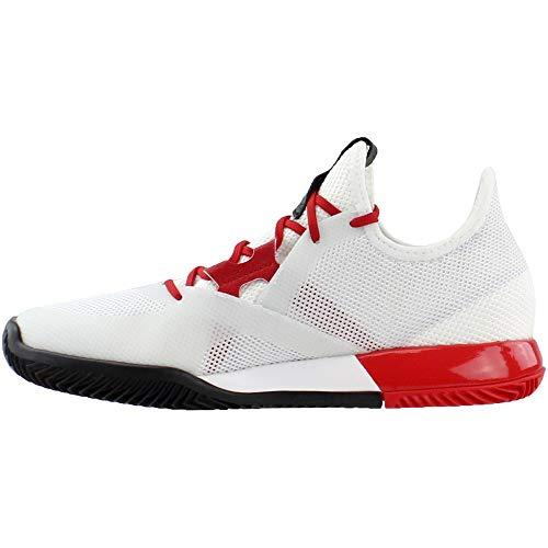 adidas Adizero Defiant Bounce w White/Scarlet/core US