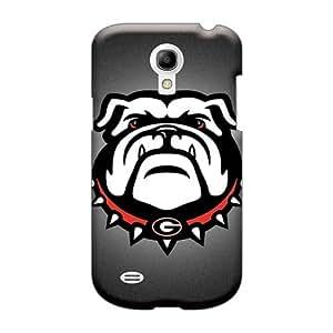 LeoSwiech Samsung Galaxy S4 Mini Excellent Hard Phone Case Unique Design High Resolution Georgia Bulldogs Pattern [sfe17718dIdy]