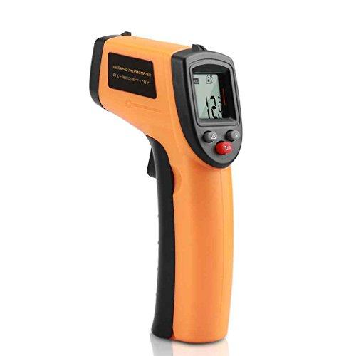 LIULIUda GM320 LCD Digital IR Infrared Temperature Meter Point-50-380 Graden Contact Thermometer