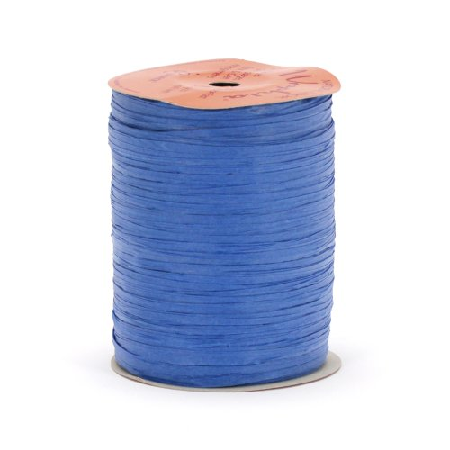 Berwick Wraphia II Matte Paper Craft Ribbon, 100-Yard Spool, Royal