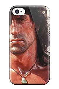 For Iphone 4/4s Premium Tpu Case Cover Sylvester Stallone Protective Case