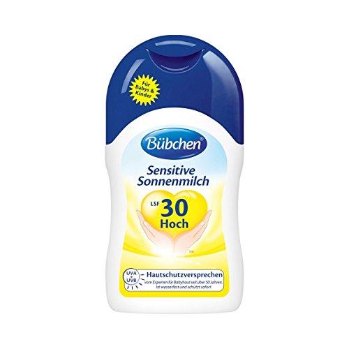 Bübchen Sonne Kids Sensitiv Sonnenmilch LSF30,2er Pack (2x 150 ml)