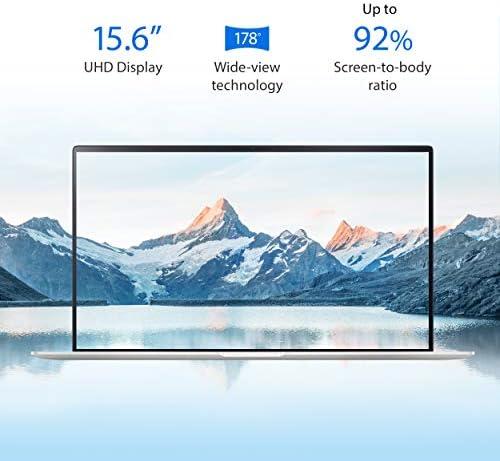 "ASUS UX534FTC-AS77 ZenBook 15 Laptop, 15.6"" UHD 4K NanoEdge Display, Intel Core i7-10510U, GeForce GTX 1650, 16GB, 512GB PCIe SSD, ScreenPad 2.0, Amazon Alexa Compatible, Windows 10, Icicle Silver WeeklyReviewer"