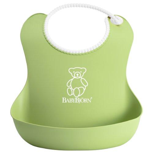 BabyBjörn 046262 Weiches Lätzchen, grün