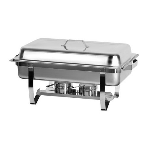 (Atosa AT751L63-1 Foldable Full Size Chafing Dish with Stainless steel pan and)