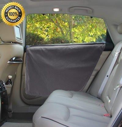 Lanyar Microfiber Dog Car Door Guard Cover Window Door Protector for Dogs Pets, Set of Two