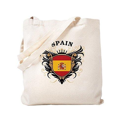 CafePress - Spain - Natural Canvas Tote Bag, Cloth Shopping Bag by CafePress