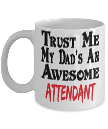 11oz Funny Dad Attendant Coffee Mug - Unique Cool Cute Father's Day Gifts Trust Me Great Novelty Gift,al3780]()