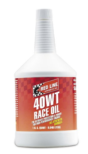 (15W-40) Synthetic Racing Motor Oil - 1 Quart Bottle - Red Line 10404