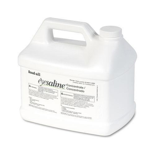 Refill Fendall Eye Wash Bottle (Honeywell 320005130000 Fendall Stream II Eyewash Station Refill, 180oz Bottles, 4/Carton)