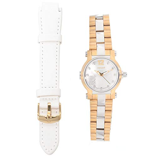New Womens Renato Swiss Beauty Petite Diamond Accented Bracelet Watch w/Strap ()
