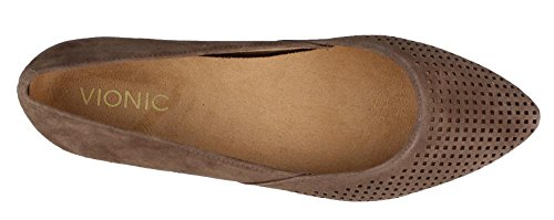 Womens Gem Posey Ballet Flat Taupe Taglia 10 larghe