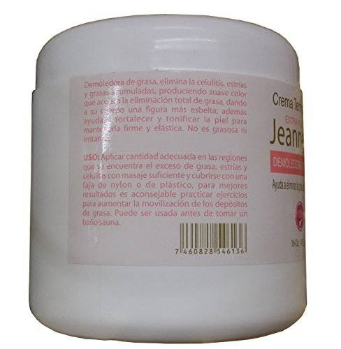 Amazon.com : Jaeannette Extra Fort Thermoactive Reducing Cream 16 Oz. : Beauty