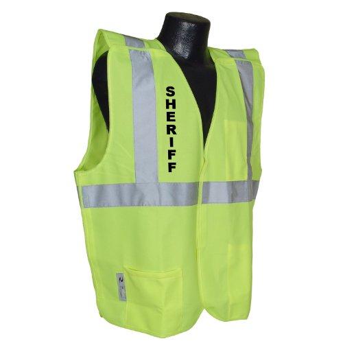Radians Radwear Sv4 Breakaway Sheriff Safety Vest (Green,Large)