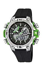 Calypso  watches K5586/3 - Reloj Hombre Analógico-Digital Sumergible, color negro