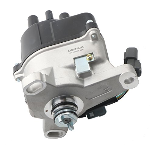 MOSTPLUS New Ignition Distributor for 97-01 Honda Prelude H22A External Coil Casting TD-77U Honda Prelude Ignition