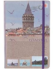 Scrikss Travel Around Turkey Defter, Çizgili, A5, İstanbul