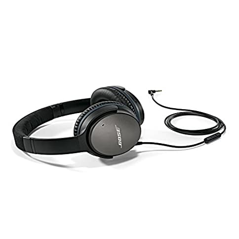 - 41MtGom58RL - Bose QuietComfort 25 Acoustic Noise Cancelling Headphones for Apple devices – Black (wired, 3.5mm)