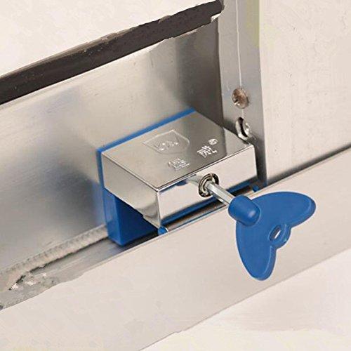 Fairy Baby Safty Aluminum Sliding Door and Window Lock Kid Stopper Wedge