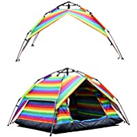Pacific Stream Automatic Hydraulic Camping Tent 2-3...