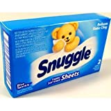 Snuggle Fabric Softener Sheets (case of 100)