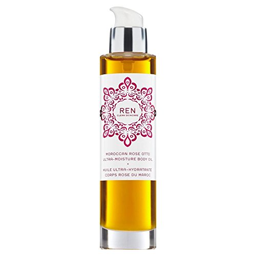 Moroccan Rose Otto Bath Oil - REN Moroccan Rose Otto Ultra-Moisture Body Oil 100ml