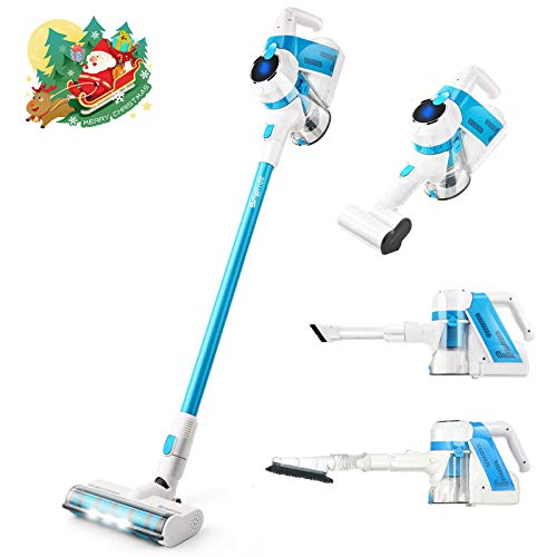 Great Features Of SIMPFREE Cordless Vacuum Cleaner, Extra Tools for Homes with Pets, Rechargeable, L...