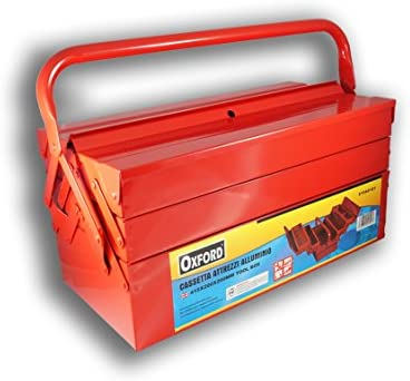Caja para Herramientas con 5 Compartimentos vacía 61040101: Amazon.es: Iluminación