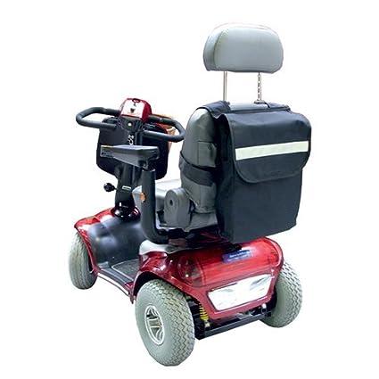 Mando a distancia de personas de movilidad reducida - marrón de bolsa para silla de ruedas