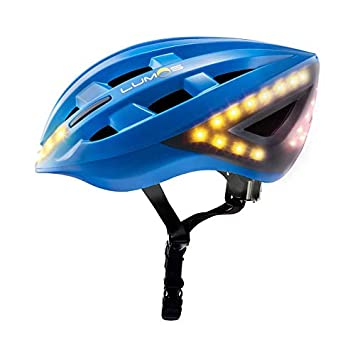 Lumos Smart Bike Helmet with Wireless Turn Signal Handlebar Remote and Built-in Motion Sensor 70 LEDs on Front, Rear and Sides CPSC and CE Certified Cycling Helmet