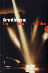 Les nuits d'octobre par Gérard de Nerval