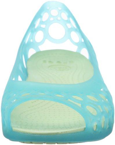 Flat Blu aqua Donna Ballerine Adrina Crocs celery Cw5HxTHq