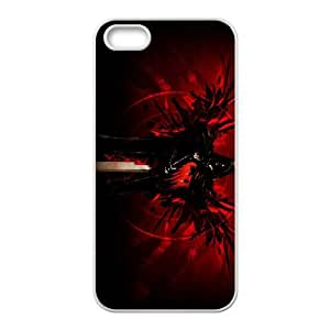 iPhone 5 5s Cell Phone Case White Destiny 022 Jnljr