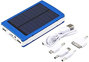 12000mAh Dual USB Portable Solar Battery Power Charger Bank For Cell Phone/iPad